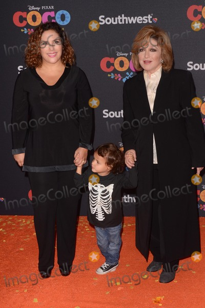 Angelica Vale Photo - LOS ANGELES - NOV 8  Angelica Maria Guest Angelica Vale at the Coco Premiere at the El Capitan Theater on November 8 2017 in Los Angeles CA