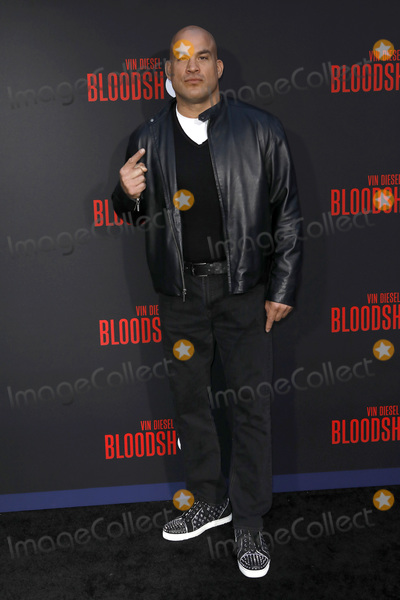 Tito Ortiz Photo - LOS ANGELES - MAR 10  Tito Ortiz at the Bloodshot Premiere at the Village Theater on March 10 2020 in Westwood CA
