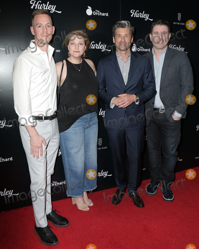 Hurley Haywood Photo - LOS ANGELES - MAR 18  Derek Dodge Julie Dansker Patrick Dempsey Hurley Haywood at the Hurley LA Premiere at the Petersen Automotive Museum on March 18 2019 in Los Angeles CA