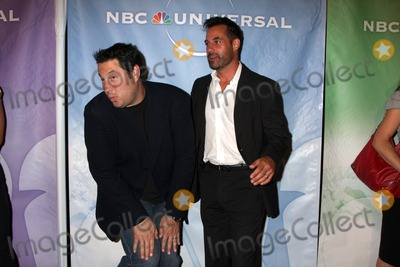 Adrian Pasdar Photo - Greg Grunberg  Adrian Pasdar arriving at the NBC TCA Party at The Langham Huntington Hotel  Spa in Pasadena CA  on August 5 2009