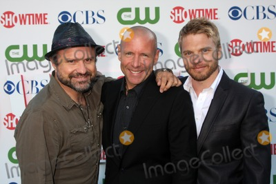 David Paetkau Photo - LOS ANGELES - JUL 28  Enrico Colantoni Hugh Dillon  David Paetkau arrives at the 2010 CBS The CW Showtime Summer Press Tour Party  at The Tent Adjacent to Beverly Hilton Hotel on July 28 2010 in Beverly Hills CA