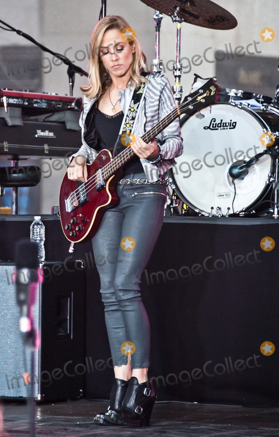 Sheryl Crowe Photo - NEW YORK NY USA - APRIL 19 Sheryl Crow Performs on NBCs Today Show at Rockefeller Plaza on April 19 2017 in New York City New York United States (Photo by Paul J FroggattFamousPix)