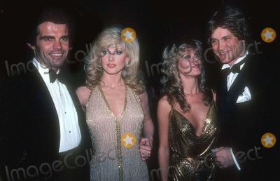 Andrew Stevens Photo - Fairchild Stevens2023JPGCelebrity Archaeology New York City1982 FILE PHOTOFred DeNault Morgan FairchildCathy St George Andrew StevensPhoto by Adam Scull-PHOTOlinknet