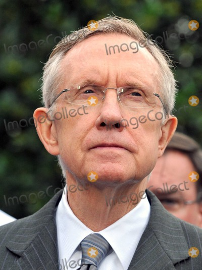 Harry Reid Photo - Washington DC - October 6 2009 -- United States Senate Majority Leader Harry Reid (Democrat of Nevada) makes remarks after meeting United States President Barack Obama on the US strategy in Afghanistan on Tuesday October 6 2009Digital Photo by Ron SachsPool-CNP-PHOTOlinknet
