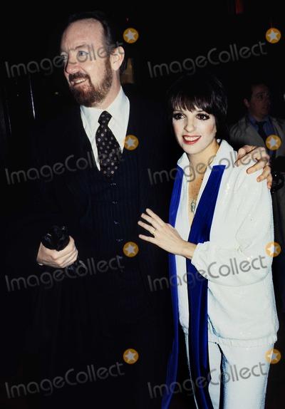 Jack Haley Photo - New York NY 1977 FILE PHOTOLiza Minelli  husband Jack Haley JrDigital photo by Adam Scull-PHOTOlinknet