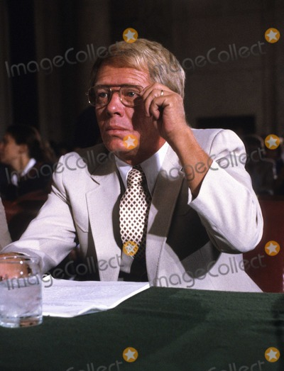 Jimmy Carter Photo - Billy Carter brother of United States President Jimmy Carter adjusts his glasses as he prepares to testify before the US Senate Judiciary Subcommittee hearing To Investigate Activities of Individuals Representing Interests of Foreign Governments also known as Billygate on August 21 1980  The subcommittee was investigating Mr Carters involvement with the Libyan governmentPhoto by Arnie SachsCNP-PHOTOlinknet