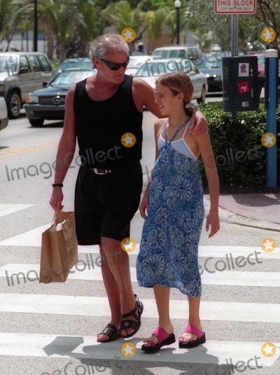 Allegra Beck Photo - Gianni Versace4417JPGCelebrity Archaeology1997 FILE PHOTOMiami Beach FLGianni Versace with niece Allegra Beck (11 years old at the time)Photo by Adam Scull-PHOTOlinknet