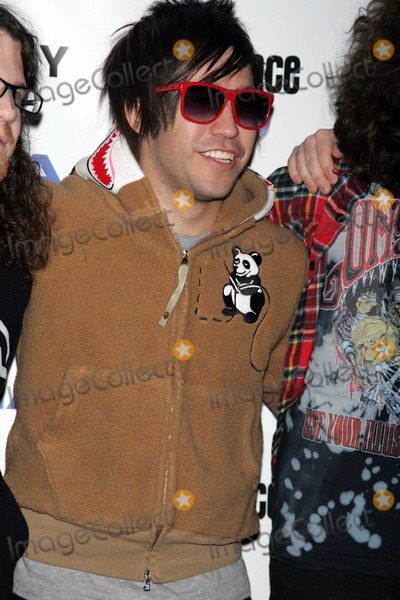 Andy Hurley Photo - New York NY 12-16-2008Pete Wentz  Fallout Boy (l-r) Andy HurleyPete Wentz Joe Trohman Patrick Stump)promiote their 5th studio CD at the Nokia Theater in Times SquareDigital Photo by Art Trainor-PHOTOlinknet