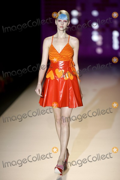 Agatha Ruiz De La Prada Photo - Madrid Spain  Sept 17 2007Agatha Ruiz de la PradaFashion Week  Pasarela CibelesDigital photo by Edu Nividhia-PHOTOlinknet