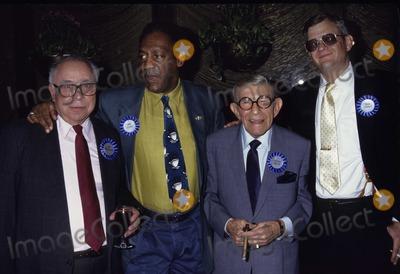 Art Buchwald Photo - New York NY 1991 FILE PHOTOArt Buchwald Bill Cosby George Burns Tom ClancyDigital photo by Adam Scull-PHOTOlinknet