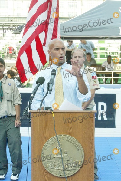 Adrian Fenty Photo - City Lot Kastles Stadium Washington 07302010Street Soccer USA a sports-based organization focused on eradicating homelessness and poverty via soccer and HELP USA held the 2010 Street Soccer USA Cup Opening Day beginning with anOpening ceremony and parade Mayor Adrian Fenty Sheila Johnson and Zach Leonsis offered remarks  Digital photo by Jym Sapphire-PHOTOlinknet