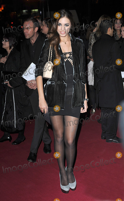Amber Le Bon Photo - Amber Le Bon attending The British Fashion Awards Royal Courts of Justice London 9th December 2009  Eric Best