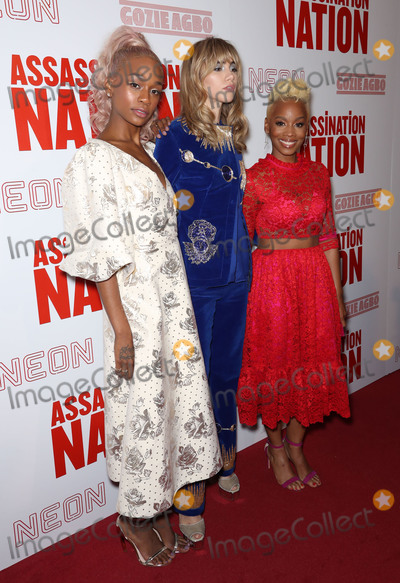 Anika Noni Rose Photo - Photo by John NacionstarmaxinccomSTAR MAXCopyright 2018ALL RIGHTS RESERVEDTelephoneFax (212) 995-119691718Abra Suki Waterhouse and Anika Noni Rose at a screening of Assassination Nation in New York City(NYC)
