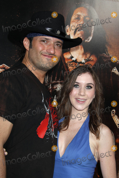 Marci Madison Photo - Photo by REWestcomstarmaxinccom201082510Robert Rodriguez and Marci Madison at the premiere of Machete(Los Angeles CA)