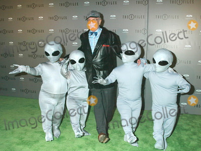 Charles Nelson Reilly Photo - Photo by Russ EinhornSTAR MAX Inc - copyright 200242702Charles Nelson Reilly and the Aliens at The X-Files Series Finale Wrap Party(The House of Blues Los Angeles CA)