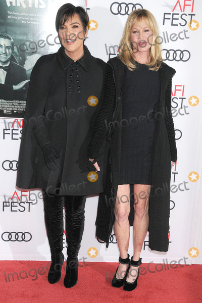 Melanie Griffith Photo - Photo by GalaxystarmaxinccomSTAR MAXCopyright 2017ALL RIGHTS RESERVEDTelephoneFax (212) 995-1196111217Kris Jenner and Melanie Griffith at the premiere of The Disaster Artist(Hollywood CA)