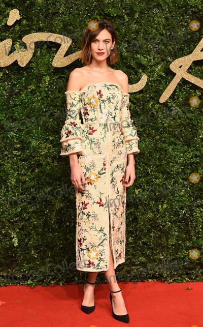 Alexa Chung Photo - Photo by KGC-03starmaxinccomSTAR MAXCopyright 2015ALL RIGHTS RESERVEDTelephoneFax (212) 995-1196112315Alexa Chung at the 2015 British Fashion Awards(London England UK)