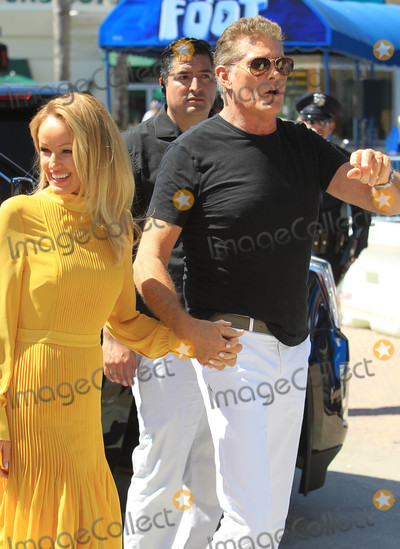 Hayley Roberts Photo - Photo by SMXRFstarmaxinccomSTAR MAX2018ALL RIGHTS RESERVEDTelephoneFax (212) 995-119692218David Hasselhoff and wife Hayley Roberts are seen in Los Angeles CA