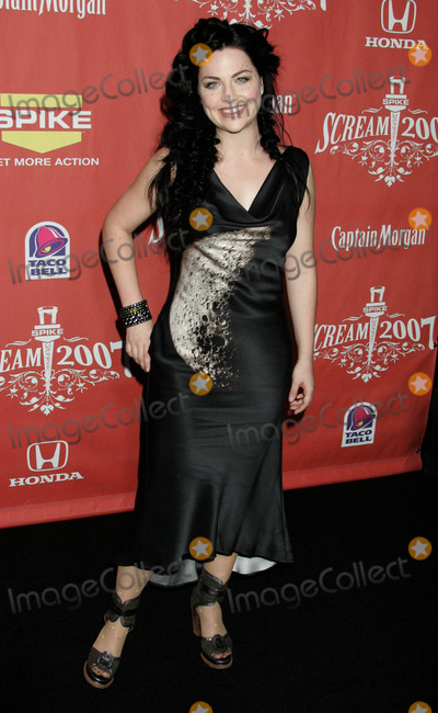 Amy Lee Photo - Photo by REWestcomstarmaxinccom2007101907Amy Lee at Spike TVs Scream 2007(Los Angeles CA)
