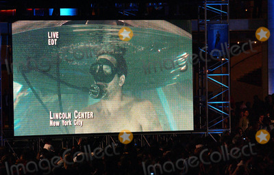 After Seven Photo - Photo by Walter Weissmanstarmaxinccom20065806David Blaine emerges from his Drowned Alive Tank after seven days submerged in water  He also attempted hold his breath for nine minutes but came up just short of the record(Lincoln Center NYC)
