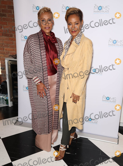 Adrienne Banfield-Jones Photo - Photo by John NacionstarmaxinccomSTAR MAX2018ALL RIGHTS RESERVEDTelephoneFax (212) 995-1196102318Jada Pinkett-Smith and her mother Adrienne Banfield-Jones at the MOMS Host Mamarazzi Event in New York City