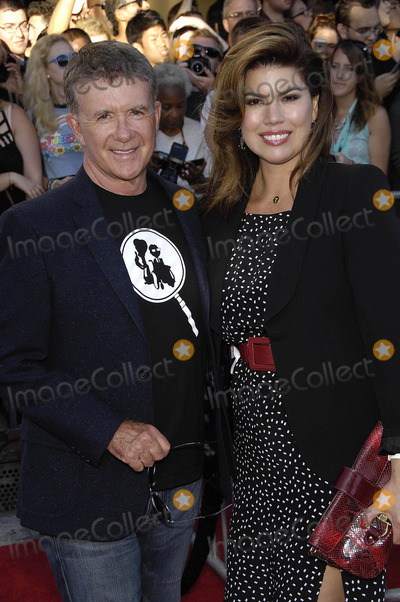 Alan Thicke Photo - Photo by Michael GermanastarmaxinccomSTAR MAX2014ALL RIGHTS RESERVEDTelephoneFax (212) 995-119671014Alan Thicke and Tanya Callau at the premiere of Sex Tape(Westwood CA)