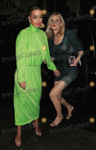Andreja Pejic Photo - Photo by Demis MaryannakisstarmaxinccomSTAR MAX2017ALL RIGHTS RESERVEDTelephoneFax (212) 995-119642717Rita Ora and Andreja Pejic are seen in New York City