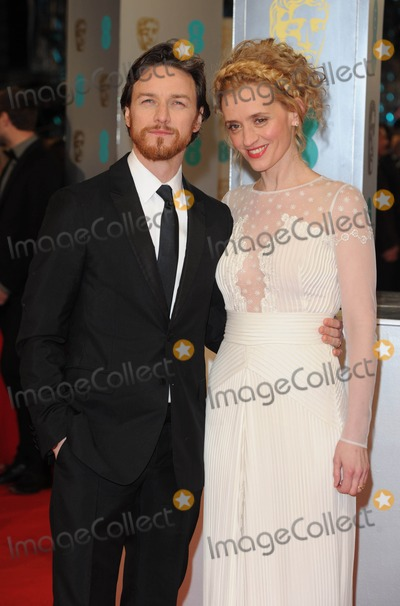 Anne-Marie Duff Photo - Photo by KGC-03starmaxinccomSTAR MAX2015ALL RIGHTS RESERVEDTelephoneFax (212) 995-11962815James McAvoy and Anne-Marie Duff at the 2015 EE BAFTA British Academy Film Awards(London England UK)
