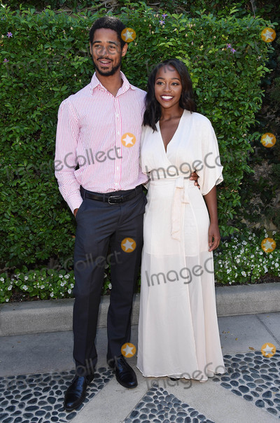 Alfred Enoch Photo - Photo by KGC-11starmaxinccomSTAR MAXCopyright 2016ALL RIGHTS RESERVEDTelephoneFax (212) 995-119692516Alfred Enoch and Aja Naomi King at The Rape Foundations Annual Brunch(Beverly Hills CA)