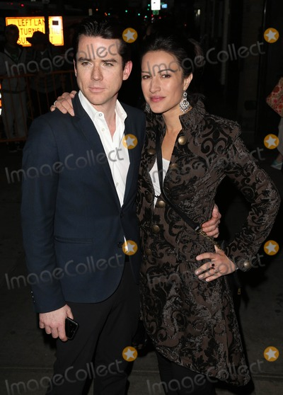 America Olivo Photo - Photo by KGC-146starmaxinccomSTAR MAX2014ALL RIGHTS RESERVEDTelephoneFax (212) 995-119691714Christian Campbell and America Olivo at the premiere of The Two Faces of January(NYC)