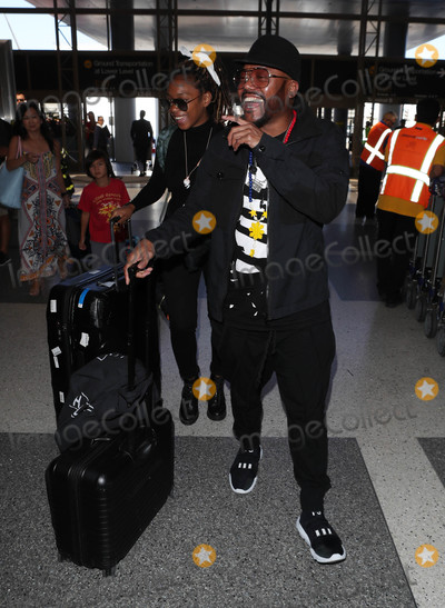 The Black EYED PEAS Photo - Photo by SMXRFstarmaxinccomSTAR MAX2018ALL RIGHTS RESERVEDTelephoneFax (212) 995-11968318apldeap of the Black Eyed Peas is seen at LAX Airport in Los Angeles CA