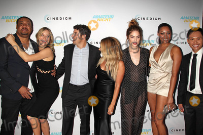 Adrian Voo Photo - Photo by REWestcomstarmaxinccomSTAR MAX2016ALL RIGHTS RESERVEDTelephoneFax (212) 995-119672516Jenny Mollen Jason Biggs Ashley Tisdale Janet Montgomery Bria Murphy and Adrian Voo at the premiere of Amateur Night(Hollywood CA)