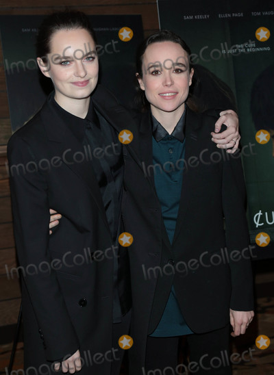 Ellen Page Photo - Photo by gotpapstarmaxinccomSTAR MAX2018ALL RIGHTS RESERVEDTelephoneFax (212) 995-119622018Emma Portner and Ellen Page at the premiere of The Cured in Los Angeles CA