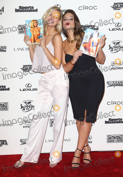 Ashley Graham Photo - Photo by KGC-146starmaxinccomSTAR MAX2016ALL RIGHTS RESERVEDTelephoneFax (212) 995-119621616Hailey Clauson and Ashley Graham at The Sports Illustrated 2016 Swimsuit Issue Gala(NYC)
