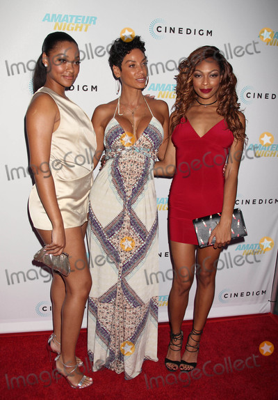 NICOLE MITCHELL Photo - Photo by REWestcomstarmaxinccomSTAR MAX2016ALL RIGHTS RESERVEDTelephoneFax (212) 995-119672516Bria Murphy Nicole Mitchell Murphy and Shayne Audra Murphy at the premiere of Amateur Night(Hollywood CA)