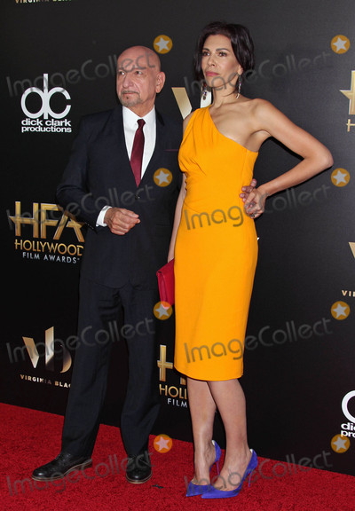 Ben Kingsley Photo - Photo by REWestcomstarmaxinccomSTAR MAX2016ALL RIGHTS RESERVEDTelephoneFax (212) 995-119611616Ben Kingsley and Daniela Lavender at The 20th Annual Hollywood Film Awards(Beverly Hills CA)