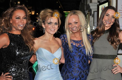 Emma Bunton Photo - Photo by KGC-42starmaxinccom2012STAR MAXALL RIGHTS RESERVEDTelephoneFax (212) 995-1196121112Melanie Brown Geri Halliwell Emma Bunton and Melanie Chisholm at the premiere of Viva Forever(London England)US syndication only