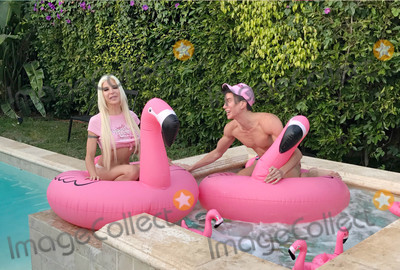 Angelique Morgan Photo - Photo by gotpapstarmaxinccomSTAR MAX2017ALL RIGHTS RESERVEDTelephoneFax (212) 995-119651817Angelique Morgan and Justin Jedlica are seen in Los Angeles CA