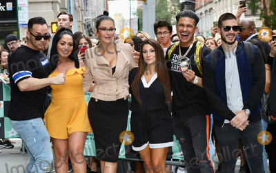 Angelina Pivarnick Photo - Photo by Nancy RiverastarmaxinccomSTAR MAX2018ALL RIGHTS RESERVEDTelephoneFax (212) 995-119682218Mike The Situation Sorrentino Angelina Pivarnick JWoww Deena Nicole Cortese Pauly D and Vinny Guadagnino are seen in New York City