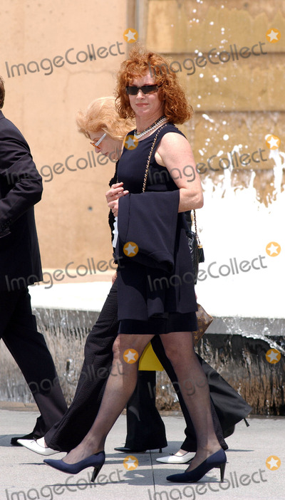 Stephanie Powers Photo - Photo by Lee RothSTAR MAX Inc - copyright 200361603Stephanie Powers at the memorial service for Gregory Peck(Los Angeles CA)