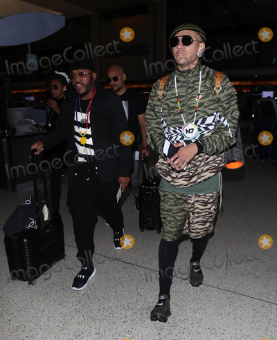 apldeap Photo - Photo by SMXRFstarmaxinccomSTAR MAX2018ALL RIGHTS RESERVEDTelephoneFax (212) 995-11968318apldeap and Taboo of the Black Eyed Peas is seen at LAX Airport in Los Angeles CA