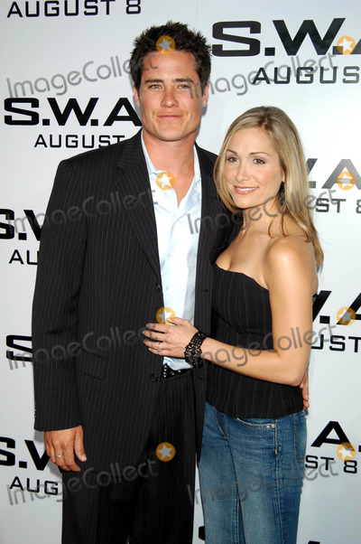 Andrew Firestone Photo - Photo by Tom LauLoud  Clear MediaSTAR MAX Inc - copyright 200373003Andrew Firestone  Jen Schefft at the World Premiere of SWAT from Columbia Pictures(CA)