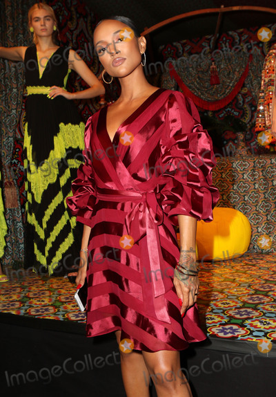 Alice and Olivia Photo - Photo by Nancy RiverastarmaxinccomSTAR MAXCopyright 2018ALL RIGHTS RESERVEDTelephoneFax (212) 995-119691118Karrueche Tran at the Alice and Olivia SS19 Fashion Presentation during New York Fashion Week in New York City(NYC)