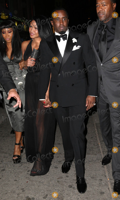 Sean Diddy Combs Photo - Photo by KGC-146starmaxinccomSTAR MAX2015ALL RIGHTS RESERVEDTelephoneFax (212) 995-11965415Cassie and Sean Diddy Combs at an after party following the Costume Institute Met Gala in New York City(NYC)