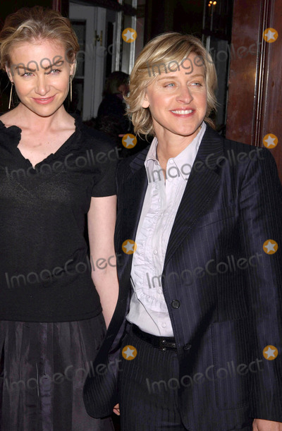 The Matrix Photo - Photo by Walter Weissmanstarmaxinccom20064306Ellen Degeneres and Portia de Rossi at the 2006 Matrix Awards(NYC)