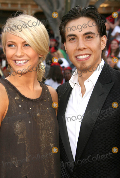 Apolo Anton Ohno Photo - Photo by REWestcomstarmaxinccom200751907Julianne Hough and Apolo Anton Ohno at the premiere of Pirates of the Caribbean At Worlds End(Anaheim CA)