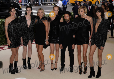 Charlotte Gainsbourg Photo - Photo by zzXPXstarmaxinccomSTAR MAXCopyright 2018ALL RIGHTS RESERVEDTelephoneFax (212) 995-11965718Charlotte Casiraghi Charlotte Gainsbourg Kate Moss Amber Valletta Anthony Vaccarello Anja Rubik and Mica Arganaraz at the 2018 Costume Institute Benefit Gala celebrating the opening of Heavenly Bodies Fashion and the Catholic Imagination(The Metropolitan Museum of Art NYC)