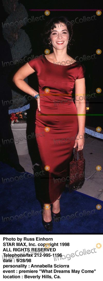 Annabella Sciorra Photo - Photo by Russ EinhornSTAR MAX Inc - copyright 1998Annabella Sciorra