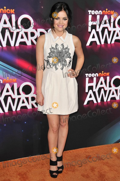 Galactic Photo - Photo by Galacticstarmaxinccom2012ALL RIGHTS RESERVEDTelephoneFax (212) 995-1196111712Lucy Hale at the TeenNick Halo Awards(Los Angeles CA)