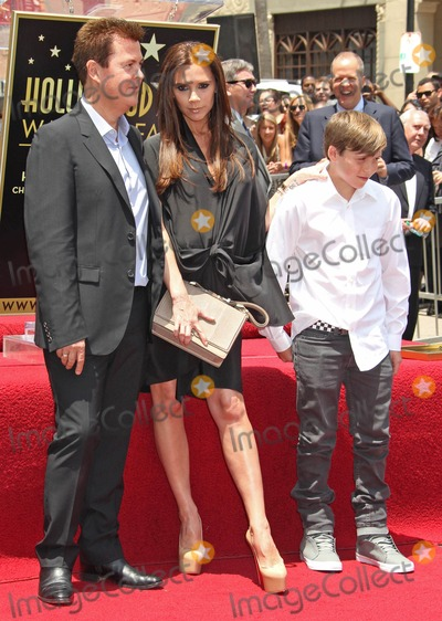 Brooklyn Beckham Photo - Photo by REWestcomstarmaxinccom201152311Simon Fuller with Victoria Beckham and Brooklyn Beckham at a star ceremony at the Hollywood Walk of Fame(Hollywood CA)